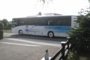 Een hele bus met bezoekers voor de open tuinen dag 16 september