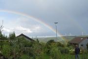 Regenboog boven het Pretherbachthal